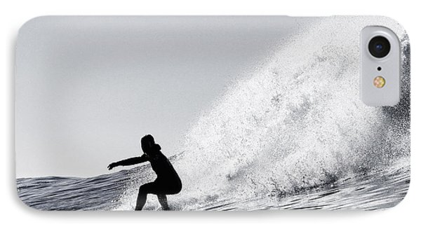 Surfing The Avalanche IPhone Case