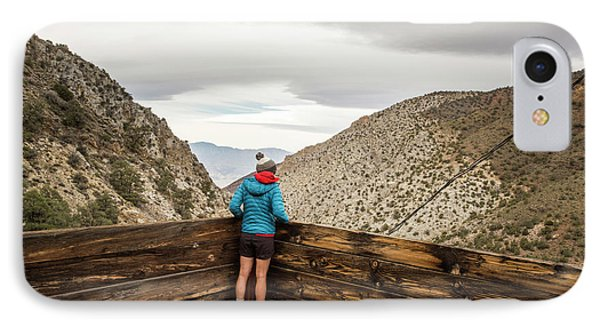 Knit Hat iPhone 8 Case - Surprise Canyon, Death Valley, Ca, Usa by David Hanson