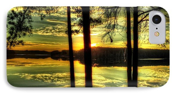 Surreal Lake IPhone Case