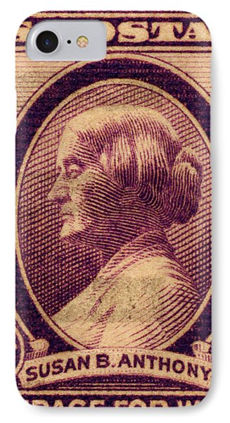 Susan B. Anthony Commemorative Postage Stamp IPhone Case