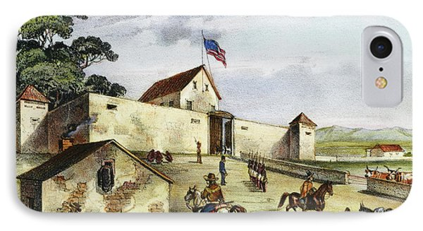 Sutter's Fort, 1849 IPhone Case