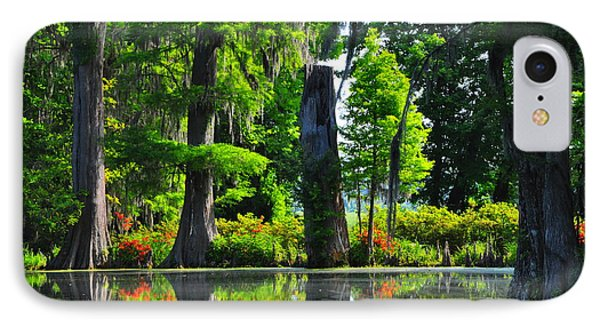 Swamp In Bloom IPhone Case