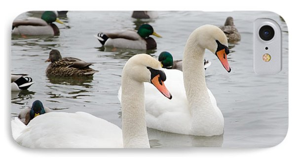 Swan Couple IPhone Case