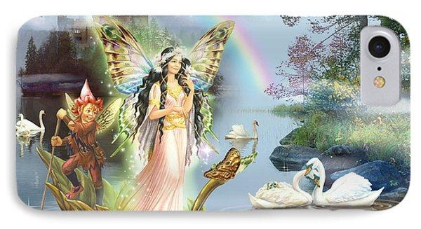 Swan Lake Fairy IPhone Case