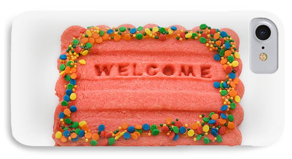 Sweet Welcome Mat IPhone Case