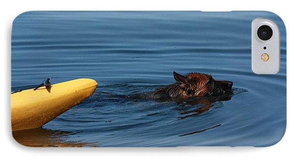 Swimming Anna B IPhone Case