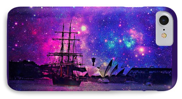 Sydney Harbour Through Time And Space IPhone Case