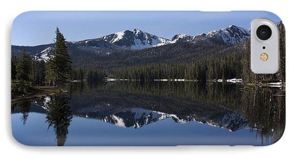 Sylvan Lake Reflection - Yellowstone IPhone Case
