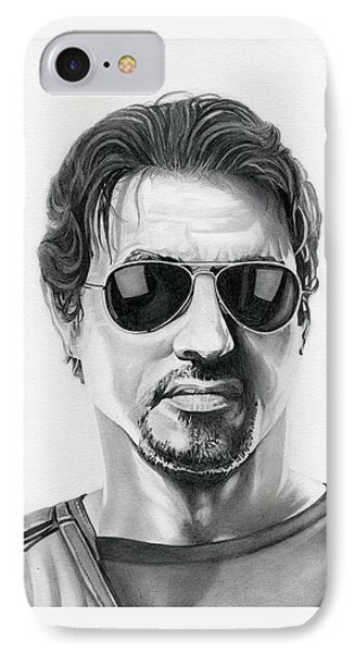 Sylvester Stallone - The Expendables IPhone Case