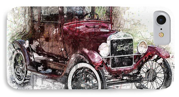 The 1926 Ford Model T IPhone Case