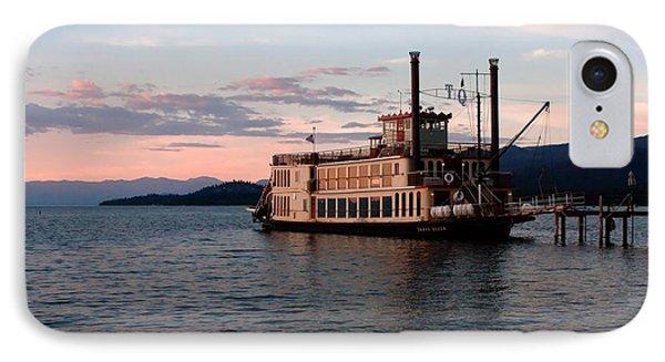 Tahoe Queen Riverboat On Lake Tahoe California IPhone Case