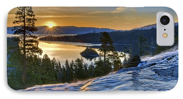 Tahoe Sunrise IPhone Case