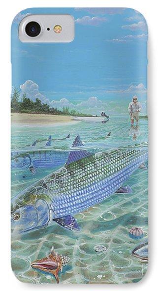 Tailing Bonefish In003 IPhone Case