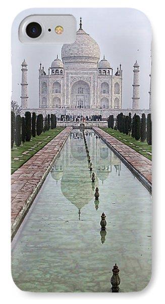 Taj Mahal Early Morning IPhone Case