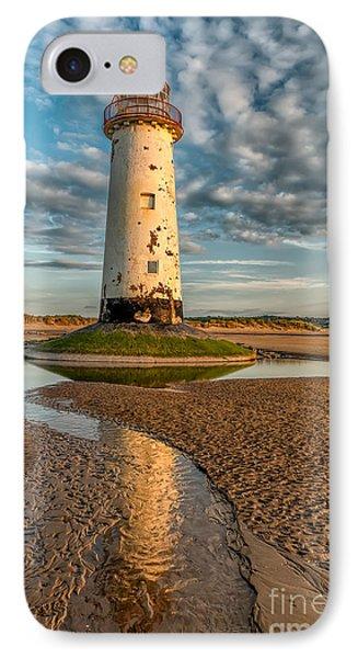 Talacre Lighthouse Sunset IPhone Case