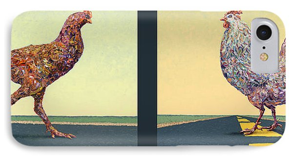 Tale Of Two Chickens IPhone Case