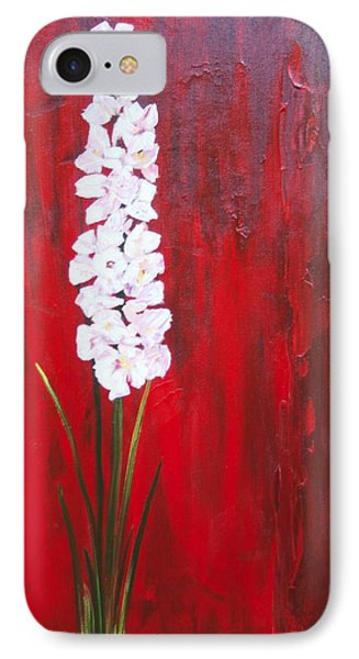 Tall Flower IPhone Case