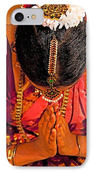 Tamil Nadu Dancer IPhone Case