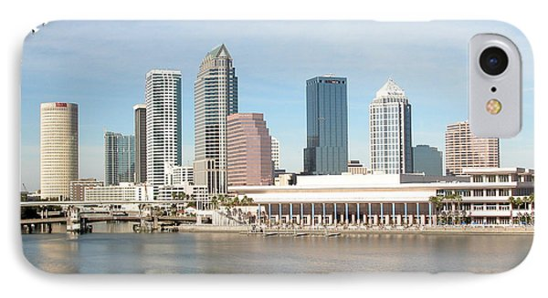Tampa Skyline IPhone Case