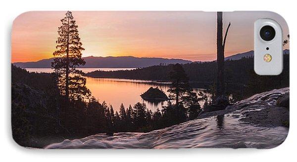 Tangerine Sunrise IPhone Case