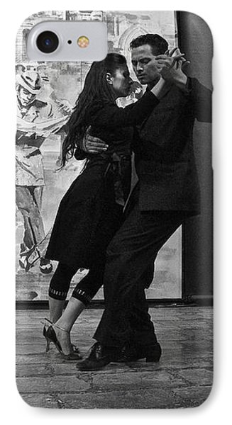 Tango Dancers In Buenos Aires IPhone Case