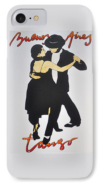 Tango In Buenos Aires IPhone Case