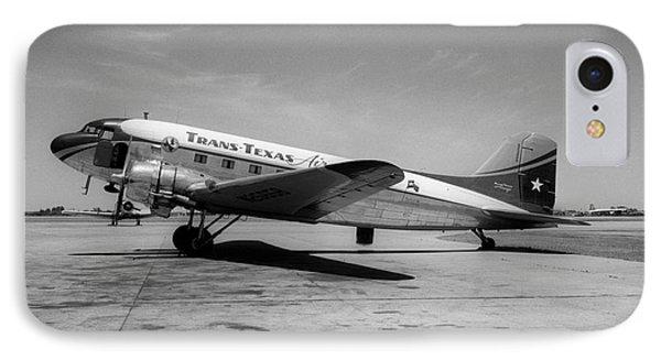 Tans-texas Air Douglas Dc-3 IPhone Case