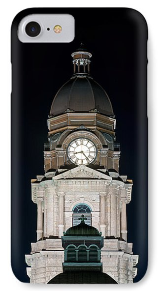 Tarrant County Courthouse V2 020815 IPhone Case