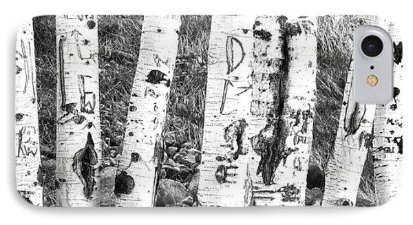 Tattoo Trees IPhone Case