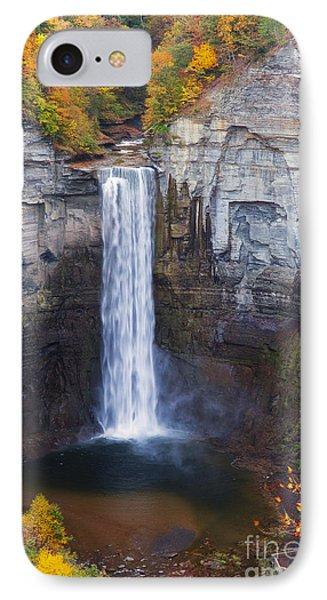 Taughannock Falls In Autumn IPhone Case
