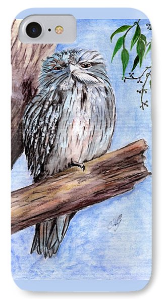Tawny Frogmouth IPhone Case