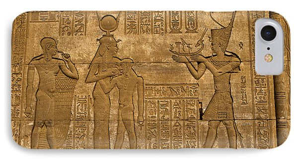 Temple At Denderah Egypt IPhone Case