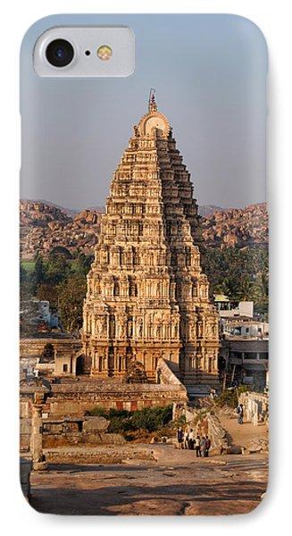 Temple At Hampi IPhone Case