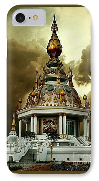 Temple Of Clouds  IPhone Case