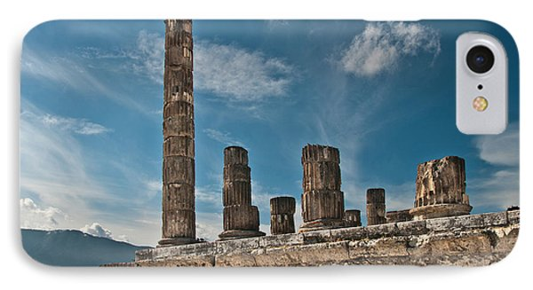 Temple Of Jupiter IPhone Case