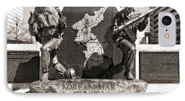 Tennessee Korean War Memorial IPhone Case