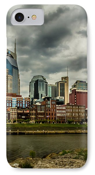 Tennessee - Nashville From Across The Cumberland River IPhone Case