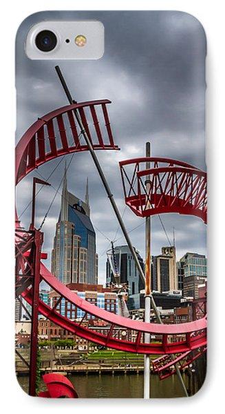 Tennessee - Nashville Through Sculpture IPhone Case