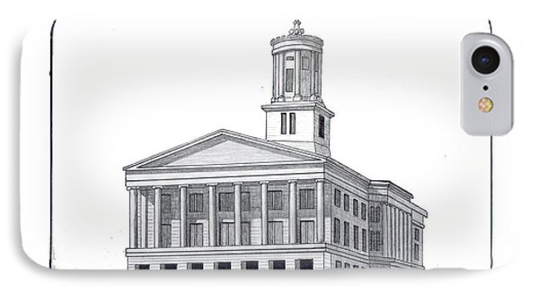 Tennessee State Capitol IPhone Case