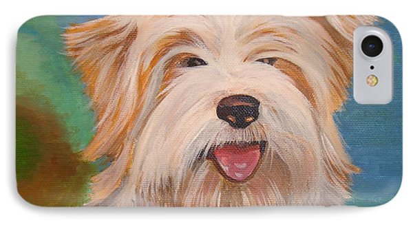Terrier Portrait IPhone Case