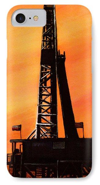 Texas Oil Rig IPhone Case