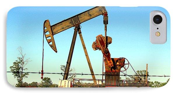 Texas Pumping Unit IPhone Case