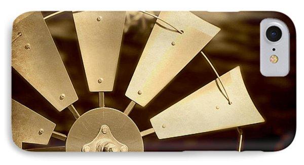 Texas Windmill IPhone Case