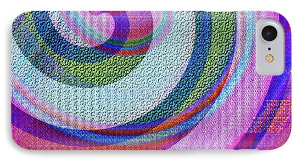 Textured Swirl Abstract IPhone Case