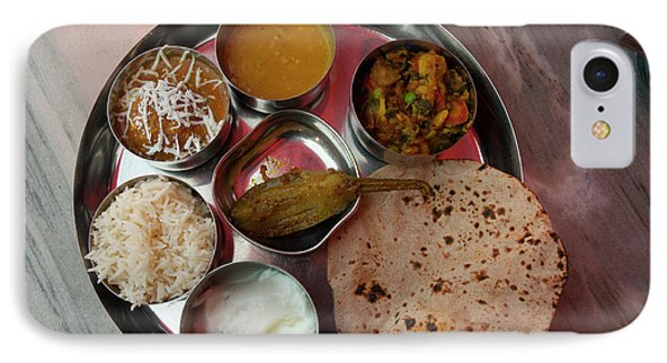 Thali For Lunch, Fatehpur Sikri, Uttar IPhone Case