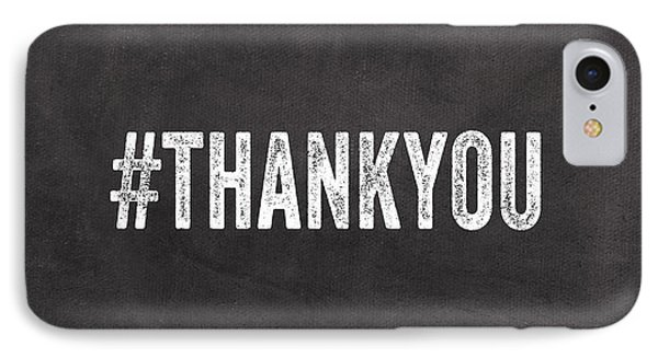 Thank You- Greeting Card IPhone Case