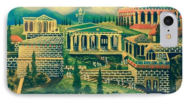 The Acropolis IPhone Case