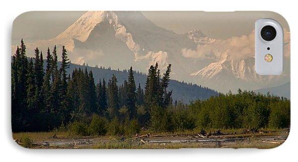 The Alaska Range At Mount Hayes IPhone Case