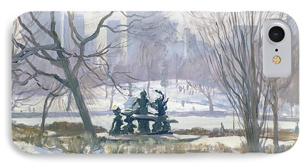 The Alice In Wonderland Statue, Central Park, New York IPhone Case