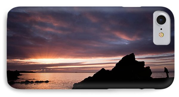 The Angler At Sunrise IPhone Case